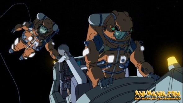 Короткометражное аниме о космическом спутнике