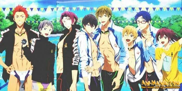 Второй сезон «Free! Iwatobi Swim Club»?