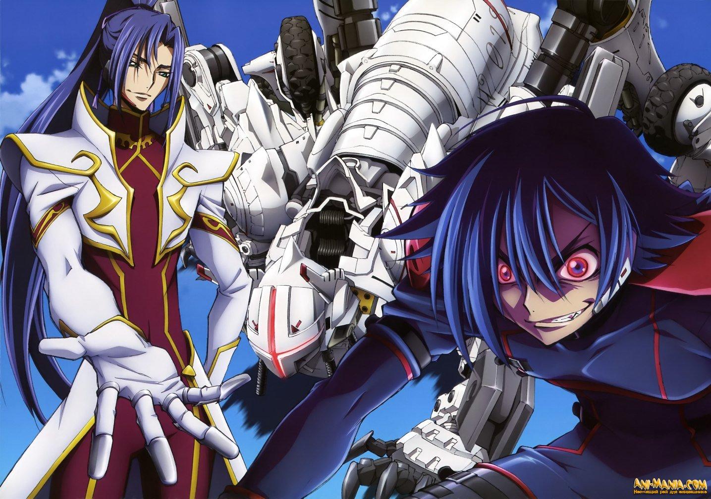 Третий эпизод аниме «Code Geass: Boukoku no Akito»