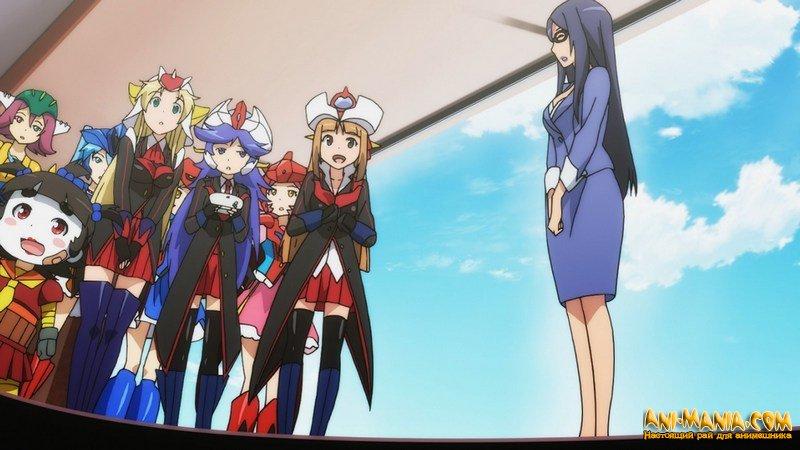 Короткометражный аниме-сериал «Robot Girls Z»