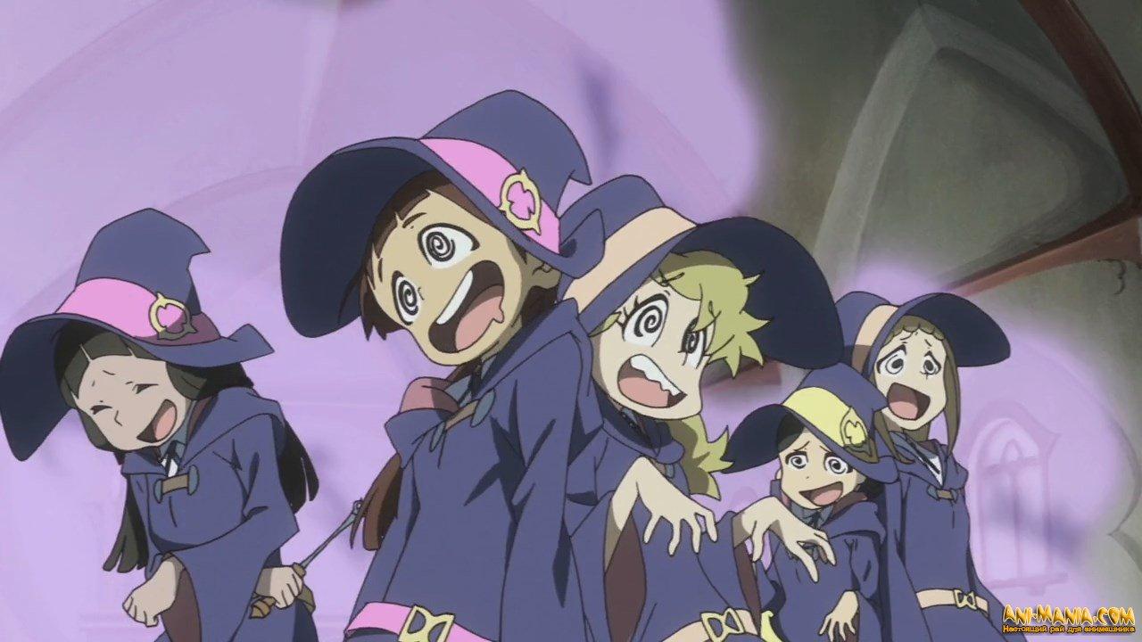 Второй фильм «Little Witch Academi»