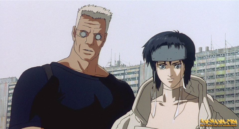Возвращение аниме «Ghost in the Shell»