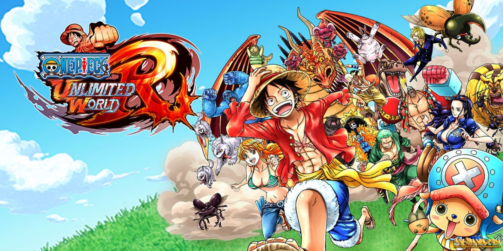 Игра «One Piece: Unlimited World Red»