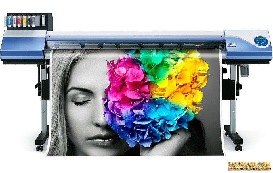 Какая связь есть между широкоформатной печатью и рекламой?