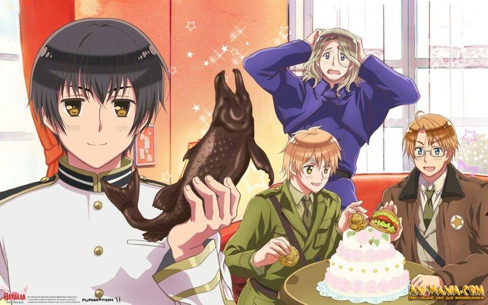 5 сезон аниме-сериала «Hetalia»