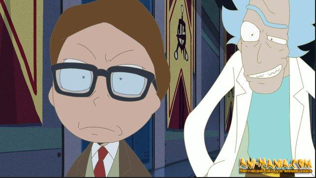 Рик и Морти стали героями нового аниме