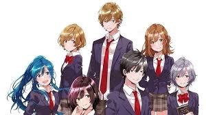 «Низкоуровневый персонаж Томодзаки-кун» — аниме, в котором девушка предлагает парню сыграть в игру