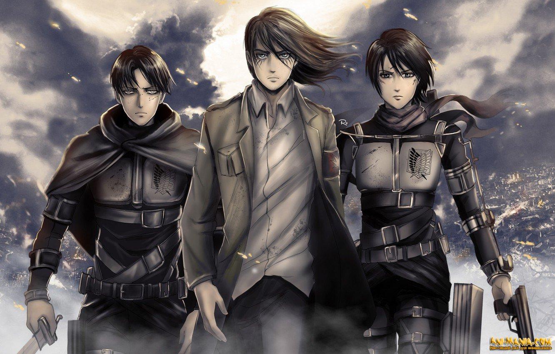 Пользователи Crunchyroll выбрали любимых героев аниме «Атака титанов»
