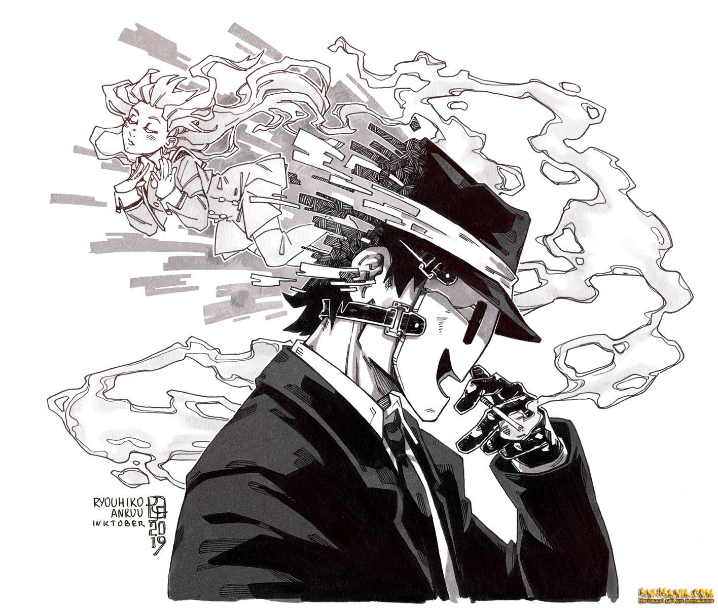 «Небесное вторжение» — новый трейлер и дата выхода аниме про противостояние школьников и загадочных убийц в масках