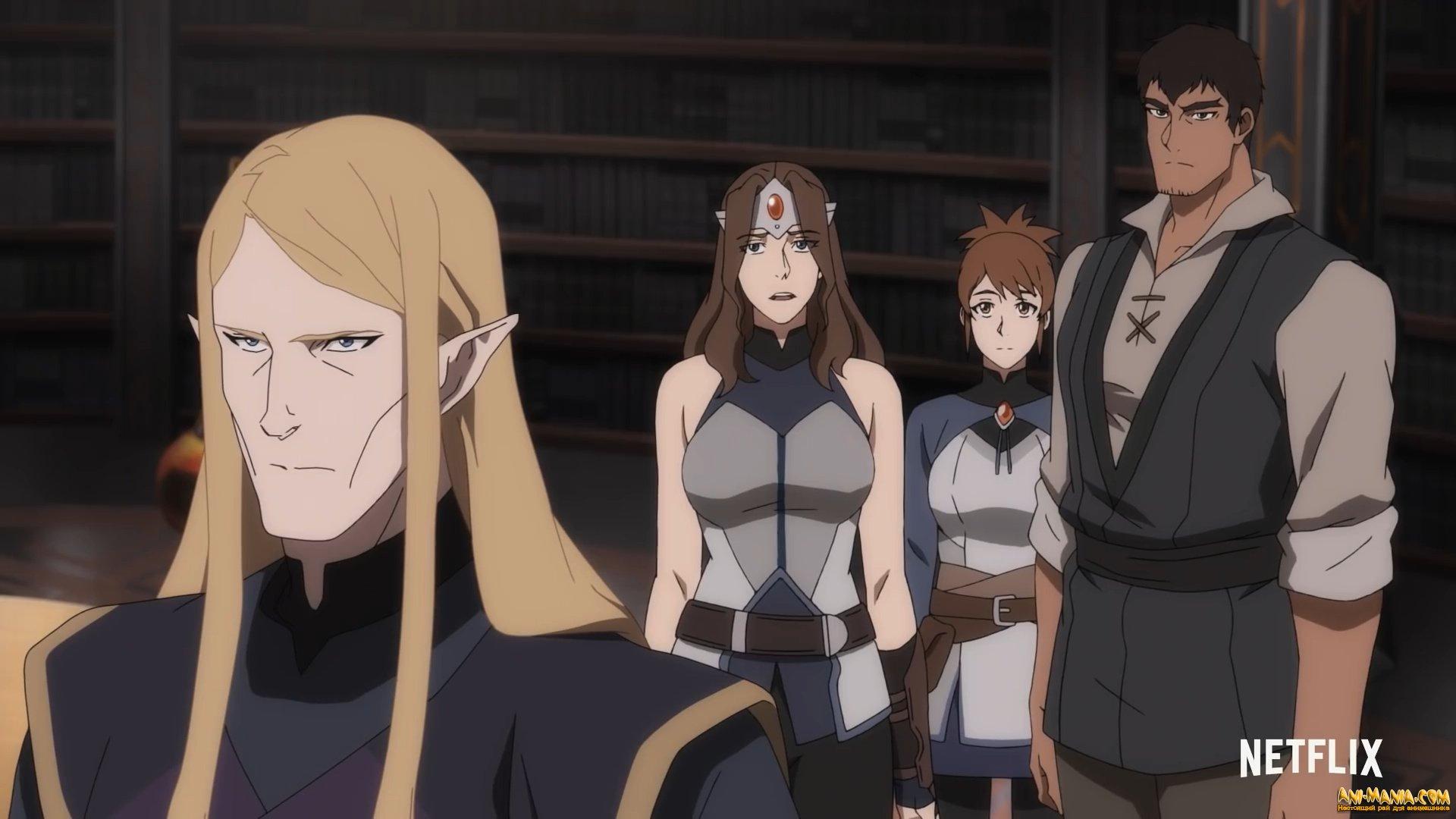 Трейлер аниме «DOTA: Кровь дракона» углубляется в сюжет сериала от Netflix, Valve и создателей «Легенды о Корре»