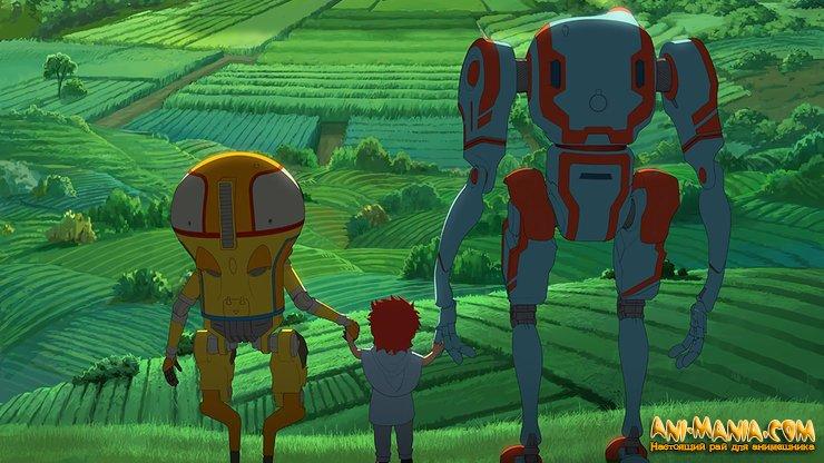 «Эдем» — трейлер с русскими субтитрами оригинального научно-фантастического CG-аниме