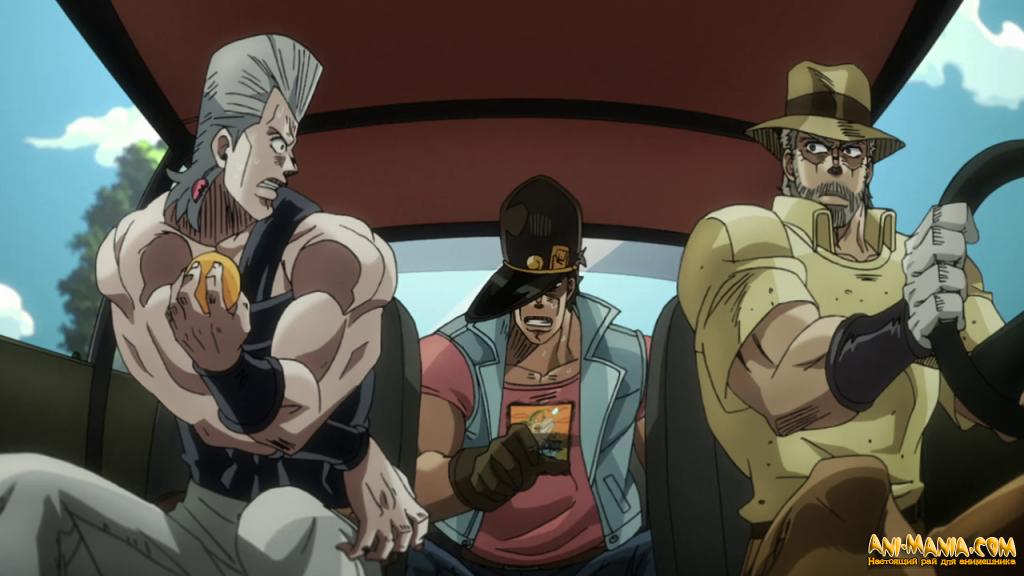 Японские зрители выбрали любимую часть аниме «Невероятные приключения ДжоДжо»