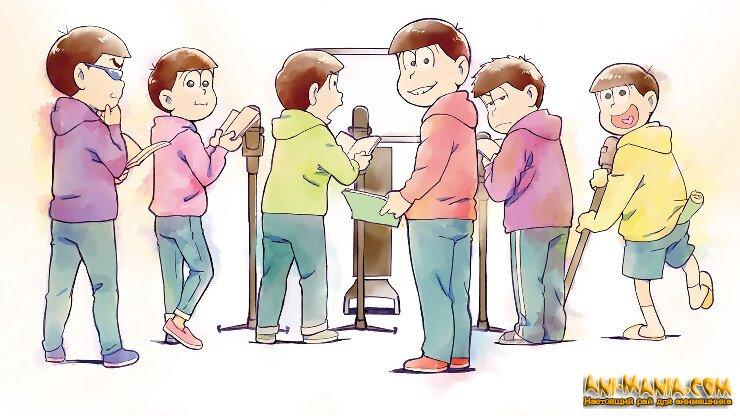 Осомацу и его братья вернутся в новых аниме