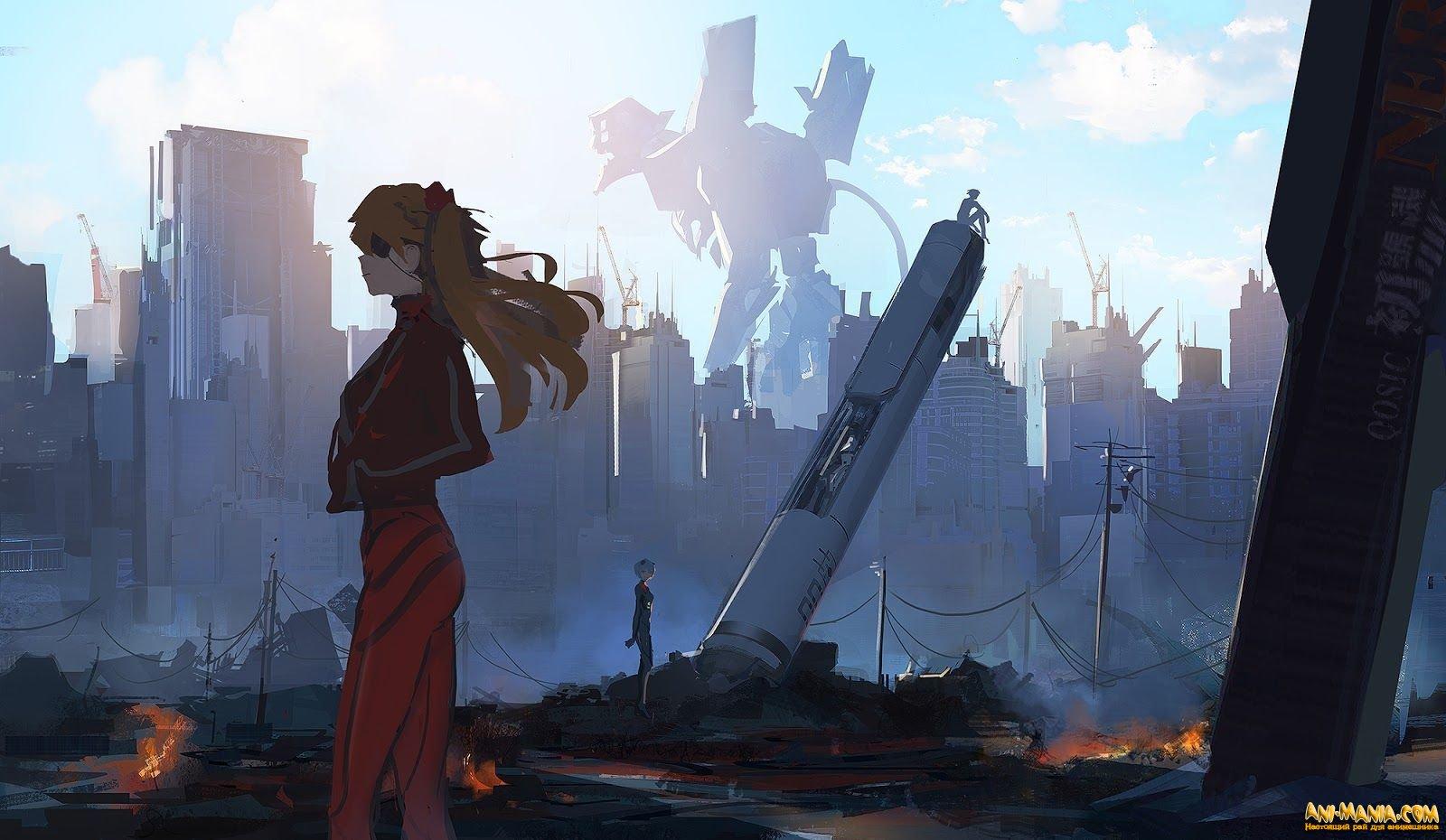 «Евангелион 3.0+1.0» стал десятым по кассовости аниме в японском прокате