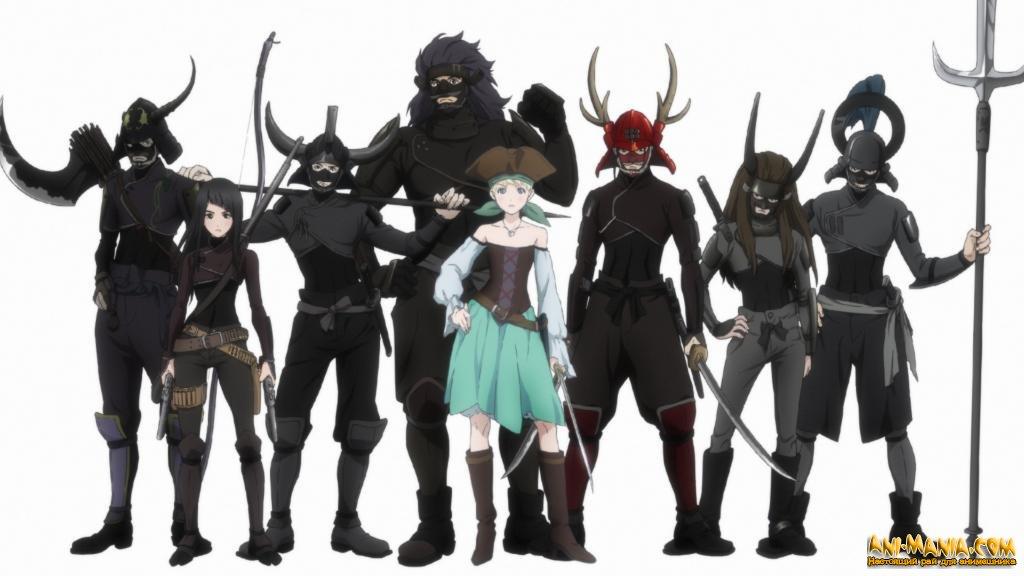 Crunchyroll опубликовал дату премьеры и новый трейлер оригинального аниме «Фена: Принцесса пиратов» с русскими субтитрами