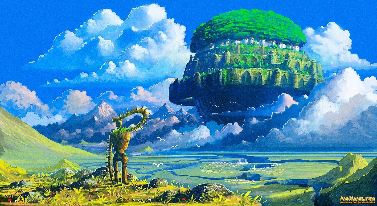 «Небесный замок Лапута» — русский трейлер классического фильма Хаяо Миядзаки