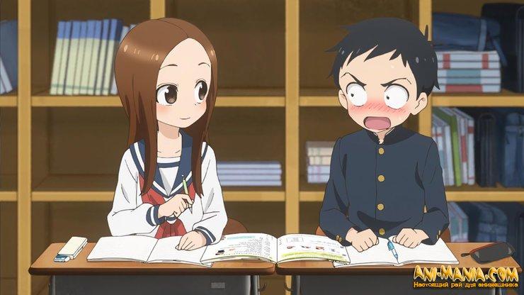 По манге «Озорная Такаги» снимут третий сезон аниме-сериала и фильм