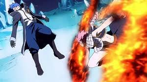 Fairy Tail Natsu Vs Jellal